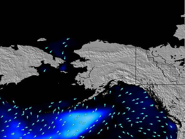 Alaska United States Surf Map Wind And Wave Forecasts