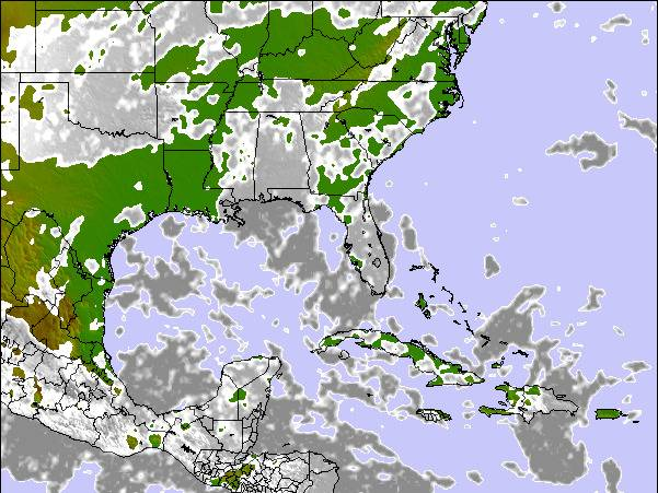 Weather Map For Florida.Florida Surf Map Wind And Wave Forecasts