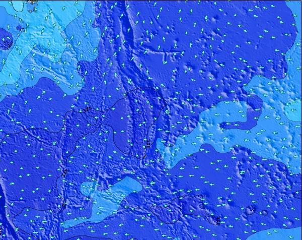Northern Mariana Islands Surf Map – Wind and Wave forecasts