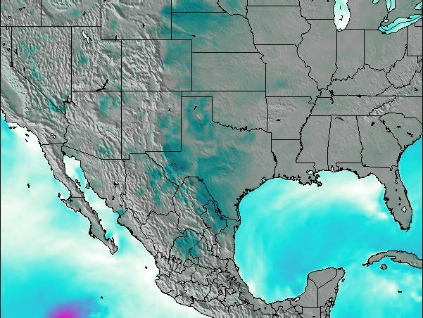 Map Of Texas Please.Texas Surf Map Wind And Wave Forecasts