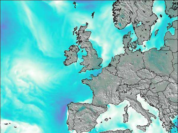 Map Of Ireland Please.Ireland Surf Map Wind And Wave Forecasts