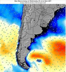 Argentina wave energy surf 12 hr forecast
