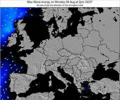 Poland wave energy surf 12 hr forecast