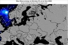 Estonia wave energy surf 12 hr forecast