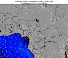 Gabon wave energy surf 12 hr forecast