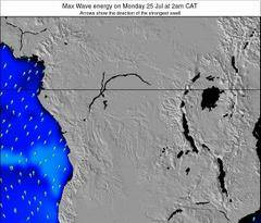 Congo wave energy surf 12 hr forecast
