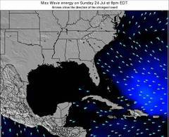 Florida wave energy surf 12 hr forecast