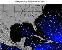 Alabama wave energy surf 12 hr forecast