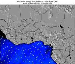Ghana wave energy surf 12 hr forecast