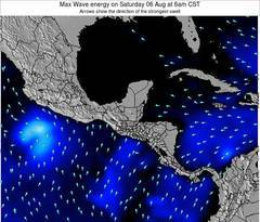 Belize wave energy surf 12 hr forecast