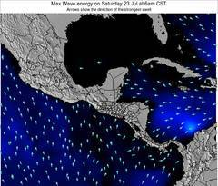 Panama wave energy surf 12 hr forecast