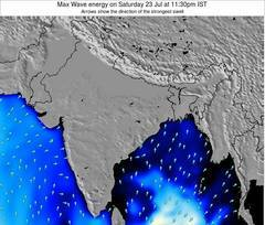 India wave energy surf 12 hr forecast