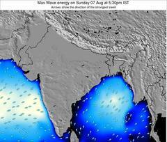 Bangladesh wave energy surf 12 hr forecast