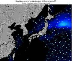 Japan wave energy surf 12 hr forecast