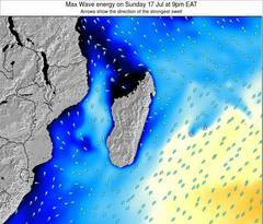 Madagascar wave energy surf 12 hr forecast