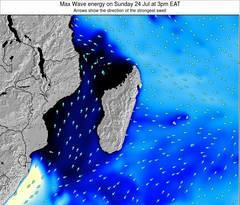 Mauritius wave energy surf 12 hr forecast