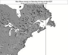 New-Hampshire wave energy surf 12 hr forecast