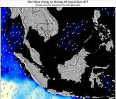 Malaysia wave energy surf 12 hr forecast