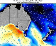 New-South-Wales wave energy surf 12 hr forecast