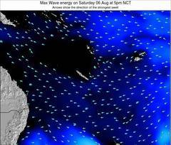 Vanuatu wave energy surf 12 hr forecast