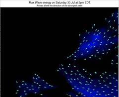 Virginia wave energy surf 12 hr forecast