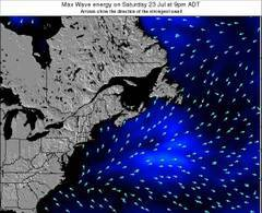 Nova-Scotia wave energy surf 12 hr forecast