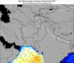 Pakistan wave energy surf 12 hr forecast