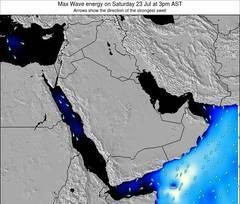 Kuwait wave energy surf 12 hr forecast