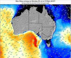 South-Australia wave energy surf 12 hr forecast