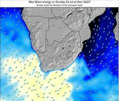 Swaziland wave energy surf 12 hr forecast