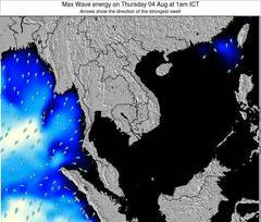 Cambodia wave energy surf 12 hr forecast