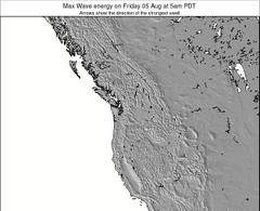 Washington wave energy surf 12 hr forecast