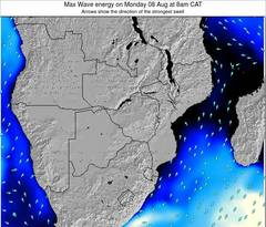 Namibia wave energy surf 12 hr forecast