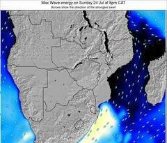 Mozambique wave energy surf 12 hr forecast