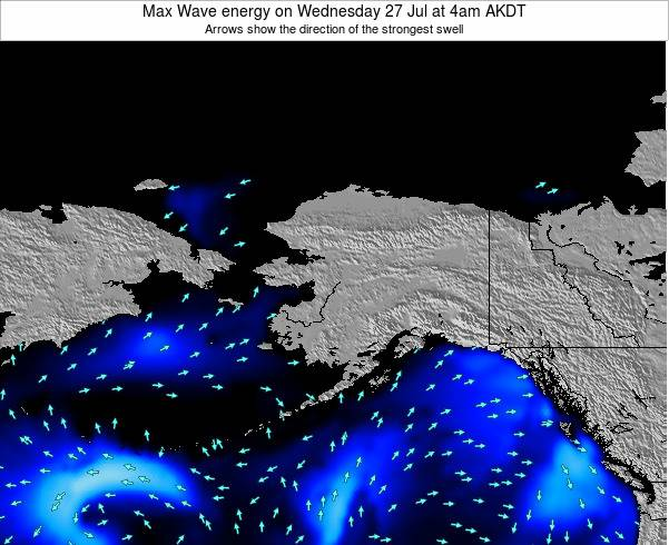 Alaska United States Max Wave energy on Sunday 26 May at 10am AKDT