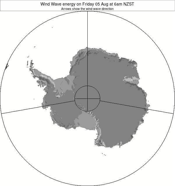 Antarctica Wind Wave energy on Friday 16 Nov at 7pm NZDT map