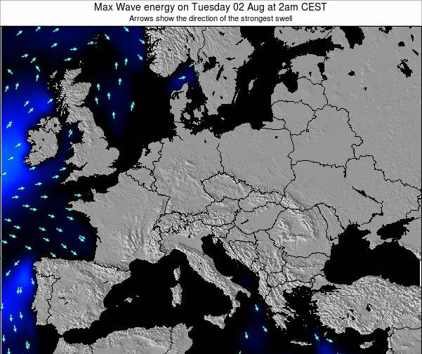 Croatia Max Wave energy on Sunday 08 Dec at 7pm CET