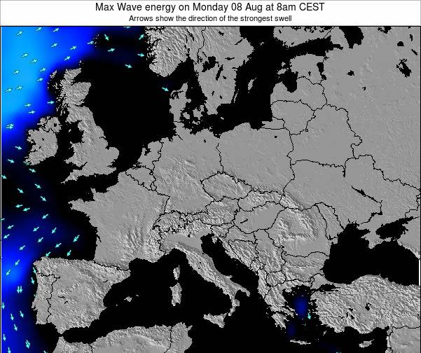 Croatia Max Wave energy on Thursday 31 Jul at 8pm CEST