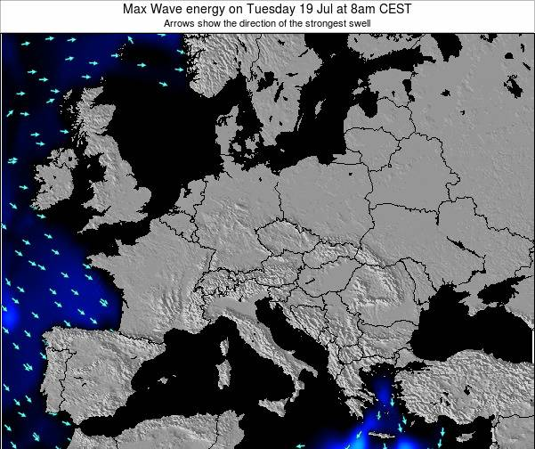 Croatia Max Wave energy on Wednesday 29 Apr at 2am CEST
