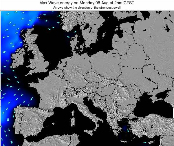 Croatia Max Wave energy on Wednesday 27 Sep at 8pm CEST
