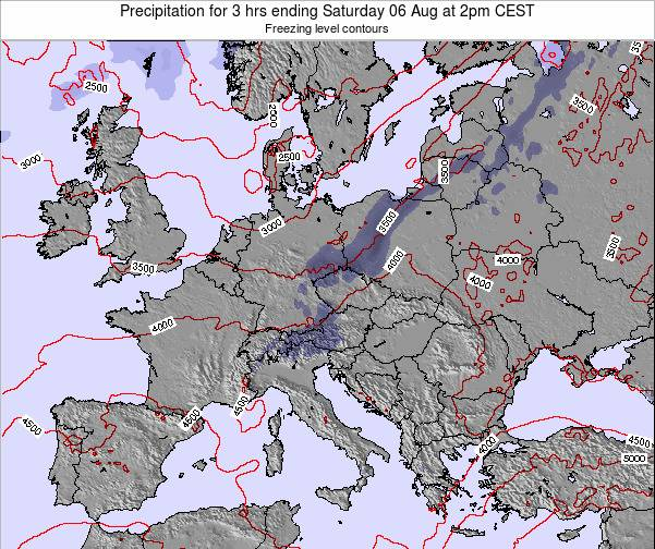 Slovenia Precipitation for 3 hrs ending Wednesday 29 May at 8pm CEST map
