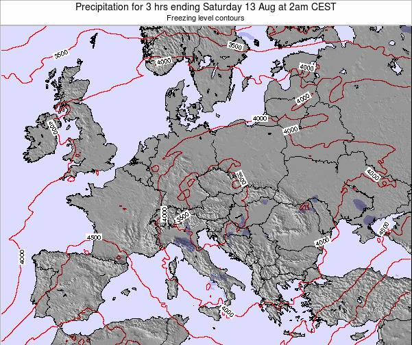 Slovenia Precipitation for 3 hrs ending Tuesday 28 May at 8pm CEST map