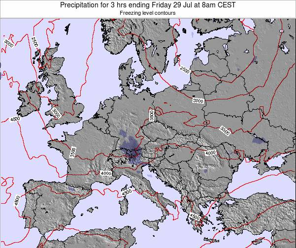 Slovenia Precipitation for 3 hrs ending Tuesday 28 May at 8am CEST map