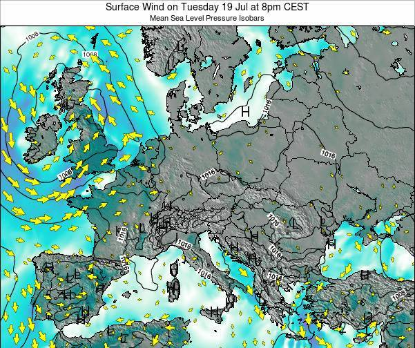 Croatia Surface Wind on Sunday 26 May at 8am CEST