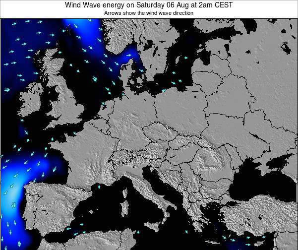 Poland Wind Wave energy on Sunday 19 May at 8am CEST