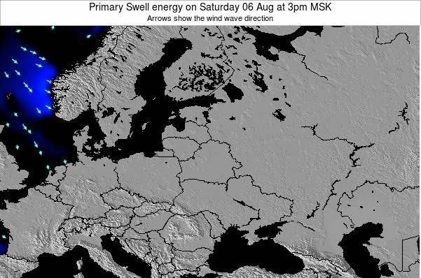 Latvia Primary Swell energy on Thursday 24 Apr at 9am FET