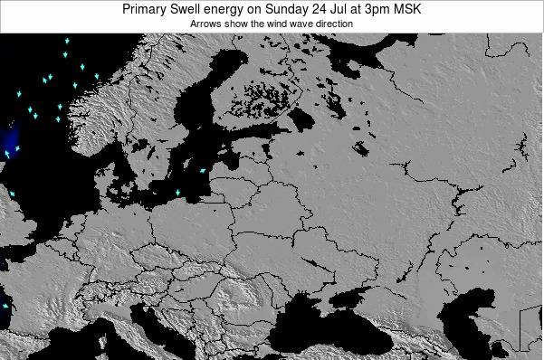 Latvia Primary Swell energy on Thursday 31 Jul at 9am FET