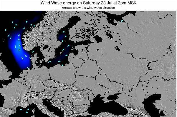 Lithuania Wind Wave energy on Sunday 26 May at 9pm FET