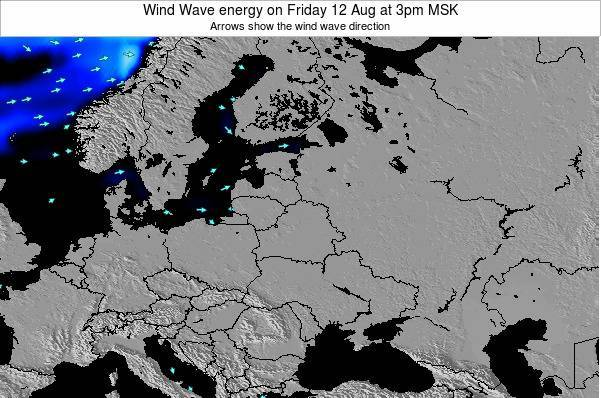 Lithuania Wind Wave energy on Wednesday 29 May at 3am FET