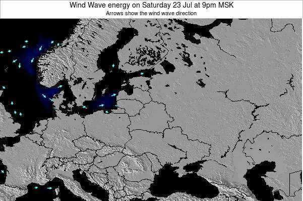 Lithuania Wind Wave energy on Sunday 26 May at 3am FET